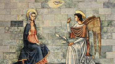 La Anunciación a María