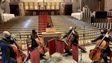 Conmovedora solemnidad en el concierto de Sábado Santo
