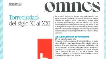 Reportaje sobre Torreciudad en la Revista Omnes