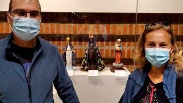 Con la Virgen de Aparecida (Brasil)
