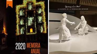 Publicada la Memoria Anual del Patronato de Torreciudad 2020