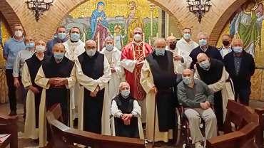 Monjes cistercienses (Monasterio de la Oliva, Navarra)