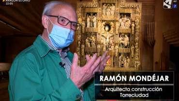 El óculo eucarístico del retablo de Torreciudad en Aragón TV