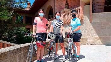 2ª romería ciclista femenina desde Raimat (Lleida)