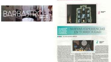 Torreciudad en la revista «Barbastro, ciudad abierta»