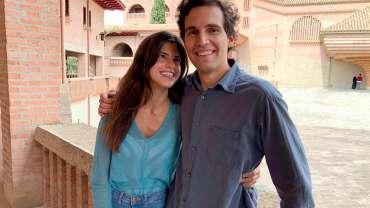 Carmen y Álvaro ponen su próximo matrimonio bajo la protección de la Virgen