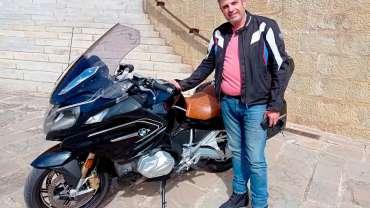 Una peregrinación de 1.000 km. en moto