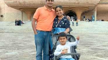 Sabish, Nancy y Jeremy: católicos indios