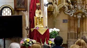 «Rezaron por mi curación a la Virgen peregrina de Torreciudad»