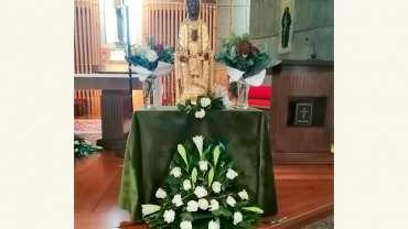 La Virgen de Torreciudad en Ourense (Galicia)